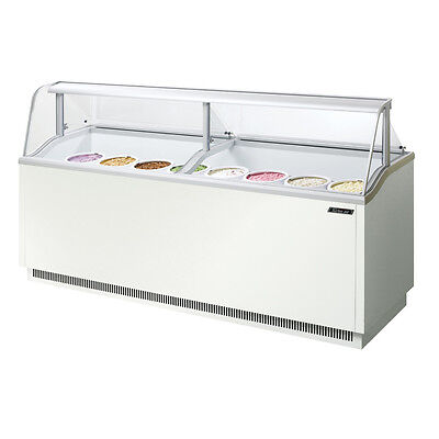 Turbo Air Tidc-91w 91-inch Ice Cream Dipping Cabinet White