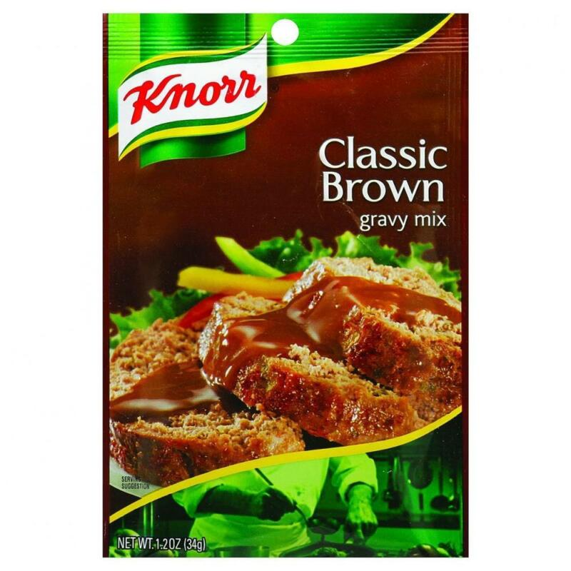 Knorr-Classic Brown Gravy Mix, Pack of 12 ( 1.2 oz bags )