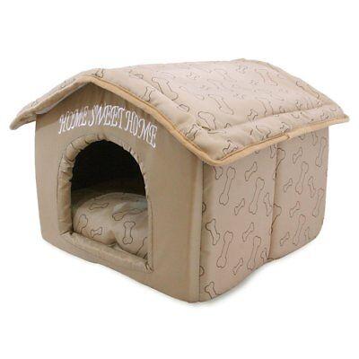 Dog Bed Indoor Dog House Cushion Sleeping Enclosure Pen Pet Sofa Comfortable Cat