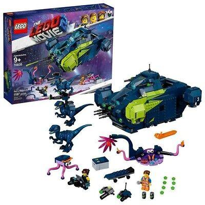 LEGO THE MOVIE 2 Rex's Rexplorer! 70835 Building Kit Spaceship New 2019 1172 Pcs