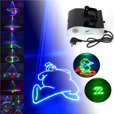 RGB 1W DMX Bühnenlicht Animation Laser Showlaser 1 WATT 1000mW DJ Stage Effekt