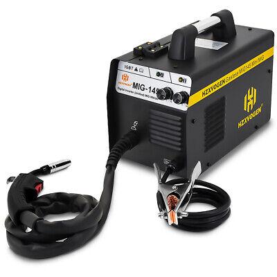 Mig Welder Flux Core Wire No Gas Gasless Inverter 220v 145a Mig Welding Machine