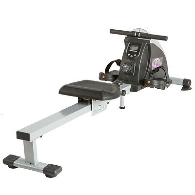 Fitness Rudergerät Ruderzugmaschine Fitnessgerät Rudermaschine mit LCD Display