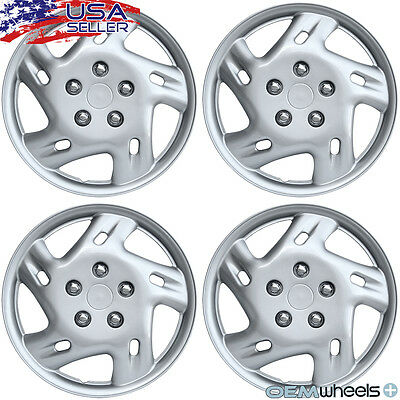 4 NEW OEM SILVER 14