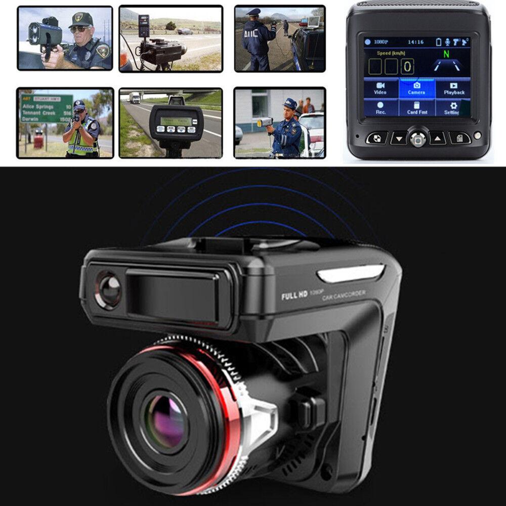 2in1 HD 1080P Car DVR Detector Camera Video Recorder Dash Cam Radar Laser Speed Consumer Electronics