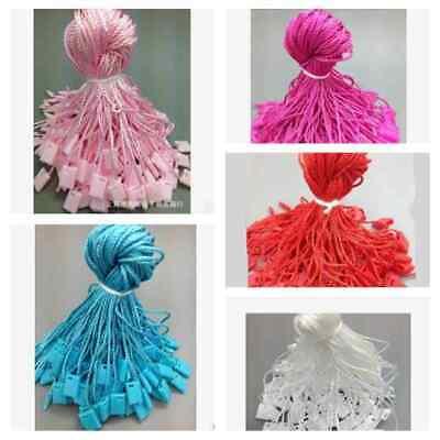 Garment Tag Hang Tag String Lock Fastener Fit For Clothing Labeling 1000pcs Hot
