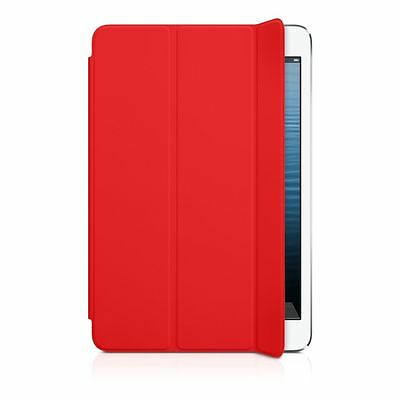 Original Apple Ipad Mini Smart Cover Case MD828ZM/A Polyurethane Red New Sealed
