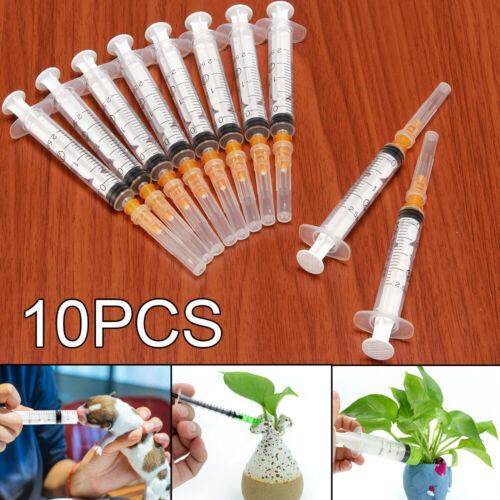 New 10PCS 2ML Plastic Hydroponics Nutrient Disposable Measur