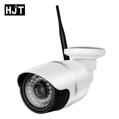 Wireless WIFI IP Camera 720P Onvif Outdoor Security Waterproof IR Night Vision