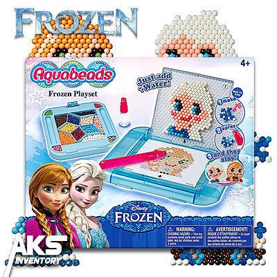 Frozen AquaBeads Playset Arts & Crafts Bead Kit Jewel Aqua Beads Kids Girls New