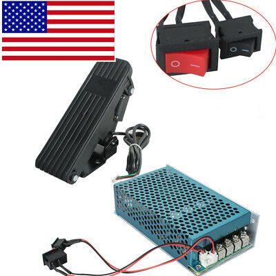 Reversible Dc Motor Speed Controller Pwm Control Soft Start Wpedal Accelerator
