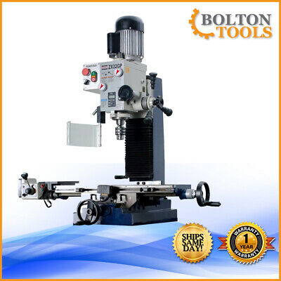27 916 X 7 116 Milling And Drilling Machine With Powerfeed Zx32gp