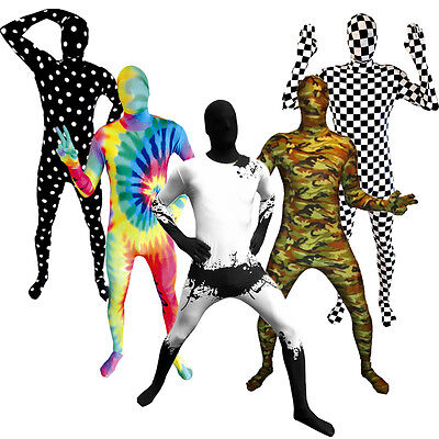 SALE Morphsuit Various Fancy Dress Costume for Party Festival Halloween Stag Do - Morph Suits For Sale