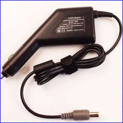 65W 20V 3.25A DC Car Adapter Charger For IBM Lenovo Thinkpad T430 T420 T410 Ibm Thinkpad Car Adapter