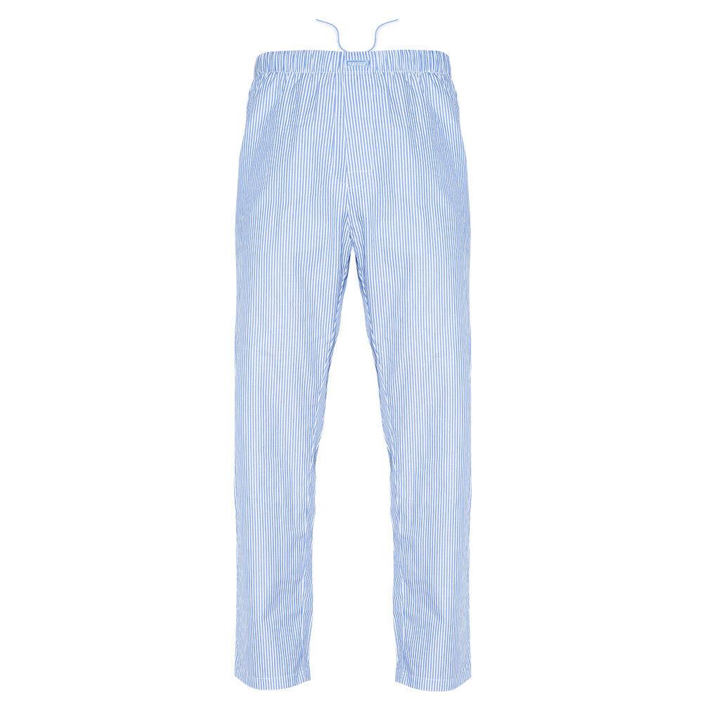 Ritzy Men/'s Pajama Pants 100/% Cotton Plaid Woven Poplin B/&B Stripes