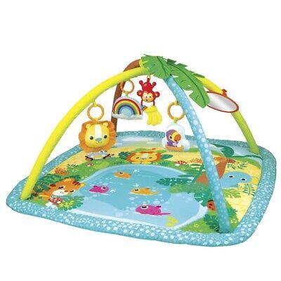 Alfombra gimnasio para bebés jungla winfun