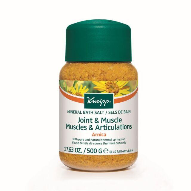 Kneipp Arnica Joint & Muscle Bath Salts 500g