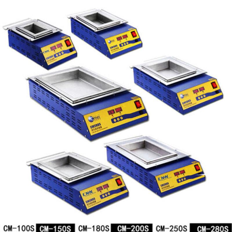 110/220V Lead-Free Solder Machine Digital Preheat Soldering Pot Stainless Steel