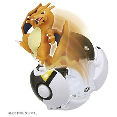 TAKARA TOMY Moncolle Pokederze Charizard (hyperball) Monster Collection Figure