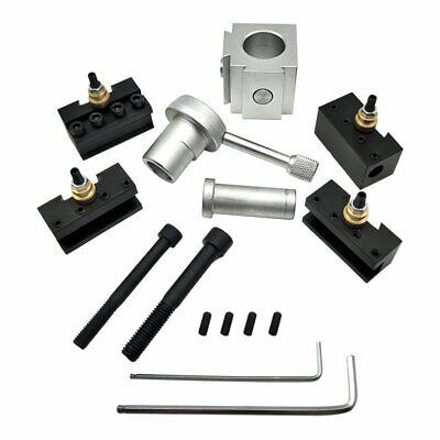 12pk Quick Change Tool Post Mini Lathe Cnc Boring Bar Turning Tool Holder-83519