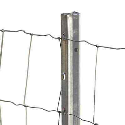 Fence Post Z Profile 150cm 10 Piece Wire Mesh Garden Fence Fencing