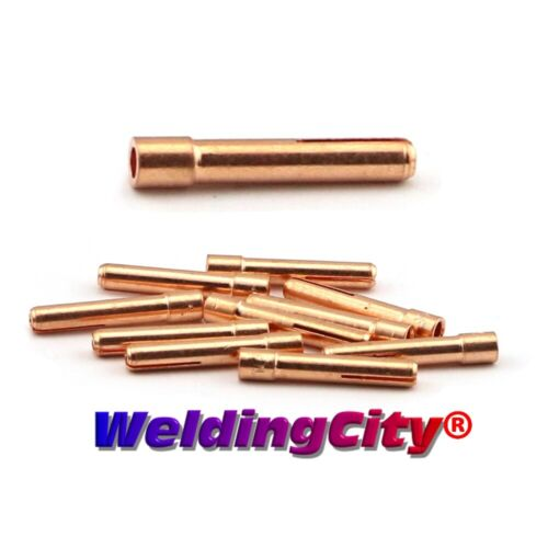 "WeldingCity® 10-pk Collet 13N24 (1/8"") for TIG Welding Torch 9/20/25   US Seller"
