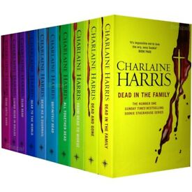 True blood 10 book collection