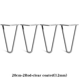 4 x Hairpin Legs for Cabinet Table Industrial Retro Metal