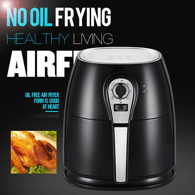Air Fryer Multifunction Programmable 1400W 4.2L Rapid Timer Temperature Control
