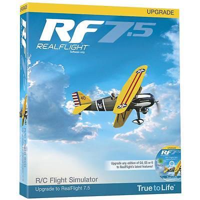 GREAT PLANES REALFLIGHT 7.5 UPGRADE G4 AND ABOVE FLIGHT SIMULATOR GPMZ4528 !!