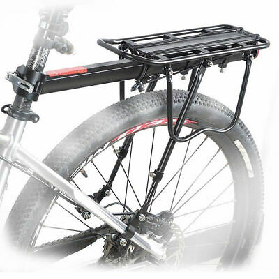 MTB Bicycle Carrier Rack Seat Post Rear Shelf Aluminum Alloy Outdoor Y9V5