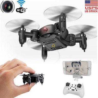 Nano Mini RC Quadcopter 2.4GHz 4CH 6-Axis Gyro 3D UFO Drone FPV W/ WIFI Camera