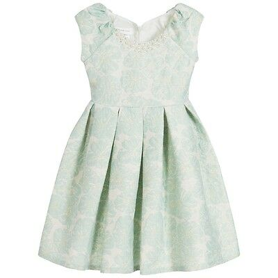 Bonnie Jean Easter Holiday Party Floral Special Occasion Girls Dress Mint, 7-16](Party Dresses Girls 7 16)