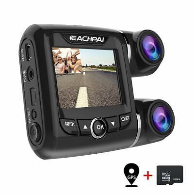 """EACHPAI Car Dash Cam,Dual Dash Cam FHD 1080P+1080P Front and Rear View 2"""" LCD 14"""