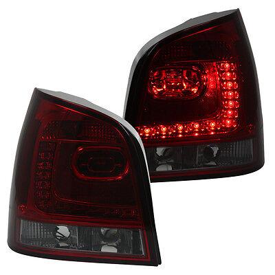 LED Rückleuchten Heckleuchten Set in 6R Optik VW Polo 9N3 Bj. 05-09 Rot/Smoke
