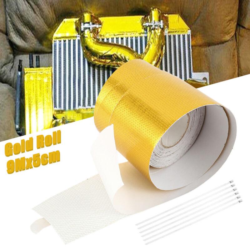 "2""x30' Gold High Temperature Heat Shield Roll Self Adhesive"