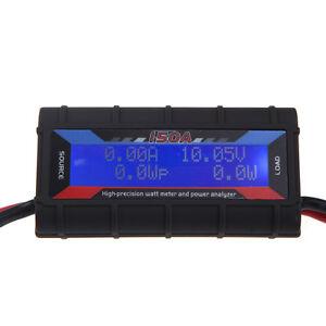 FT08 RC 150A Hight Precision Watt Meter +Power Analyzer w/Backlight LCD US Stock