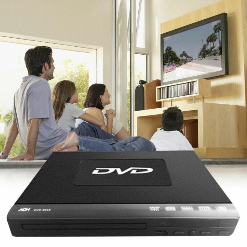 1080p DVD-Player Fernbedienung Mediaplayer Anzeige USB3.0 SD Card Reader RW DE!