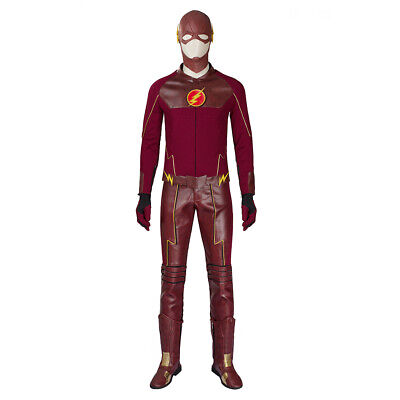 Barry Allen Cosplay Costume Superhero The Flash Outfits Comic COS Suits Props  - Comic Suit