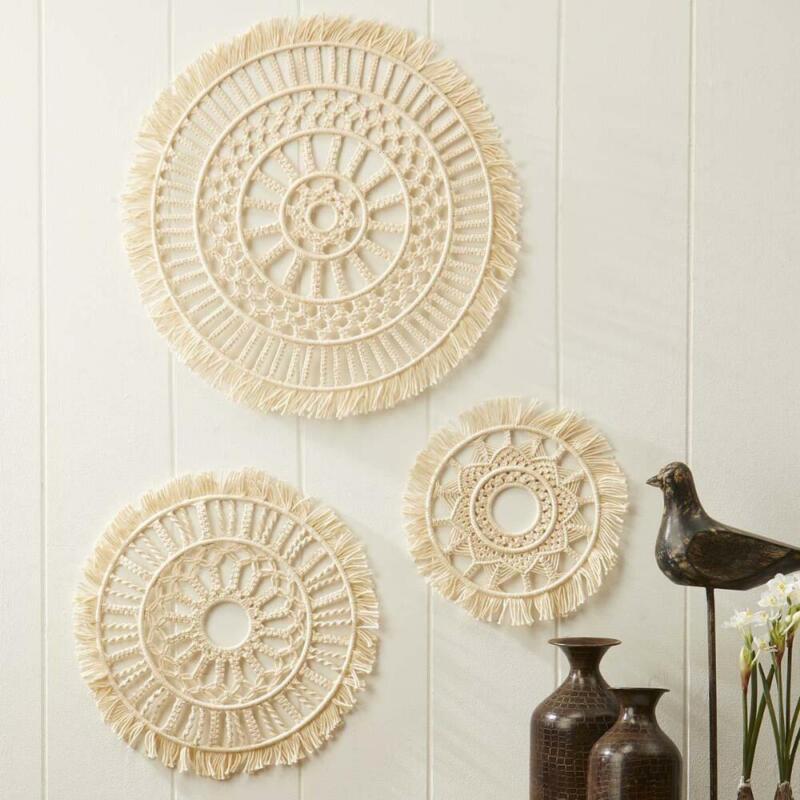 Village Yarn™ Mandala Trio Wall Hanging Yarn Kit