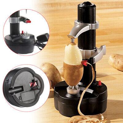- Auto Electric Peeler Fruit Vegetable Apple Potato Slicer Kitchen