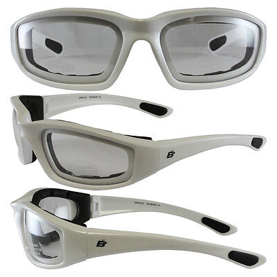 MOTORCYCLE WHITE GLASSES
