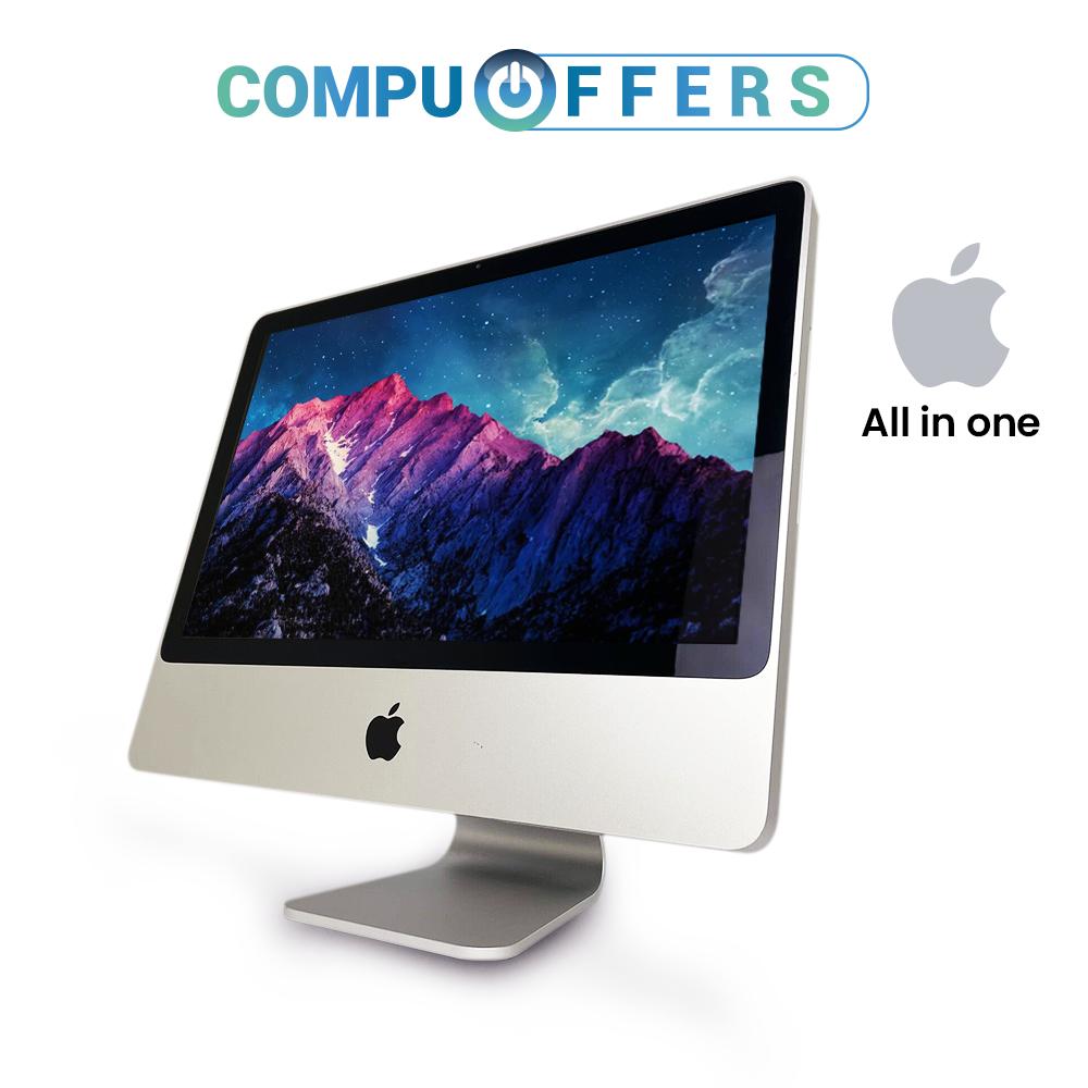 "Apple iMac 20"" Desktop PC Computer Mac OS 250 HDD 4GB RAM In"