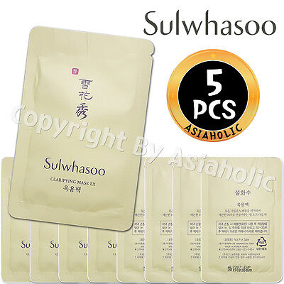 Sulwhasoo Clarifying Mask EX 5ml x 5pcs (25ml) Sample AMORE PACIFIC