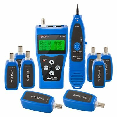 Nf-388 Multipurpose Network Lan Phone Cable Tester Far-end Wire Tracker Measure