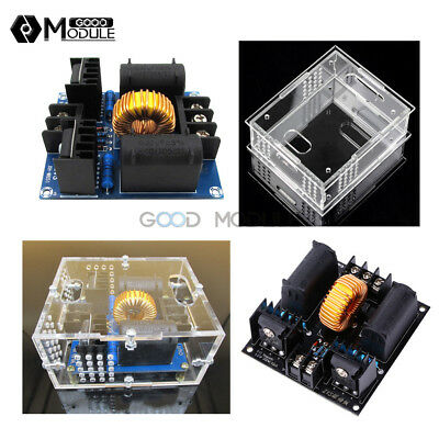 12-30v Zvs Tesla Dc Coil Marx Generator High Voltage Power Supply Module Case