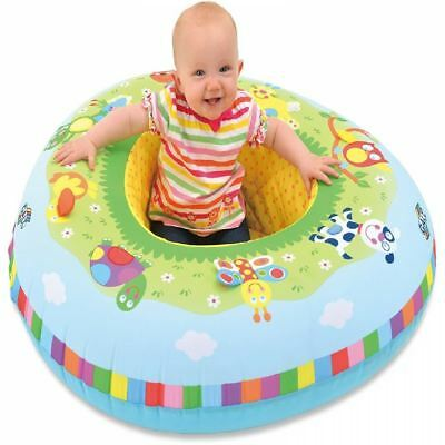 Galt Inflatable Blow Up Playnest 2in1 Baby bed Play Toy Seat Chair Support Ring