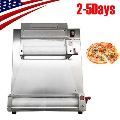 110v Portable Auto Pizza Bread Dough Roller Sheeter Machine Pizza Making Machine