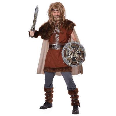 Mens Mighty Viking Halloween Costume - Viking Halloween Costumes Men