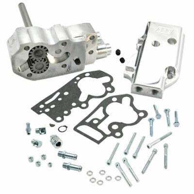 S&S Polished Billet Aluminum Oil Pump Kit Harley Shovelhead Evo Evolution ()